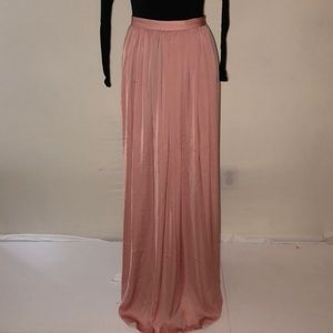 NWT Joie long skirt in vintage rose, size m